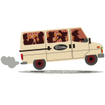 Camion de tournée de La Gâpette